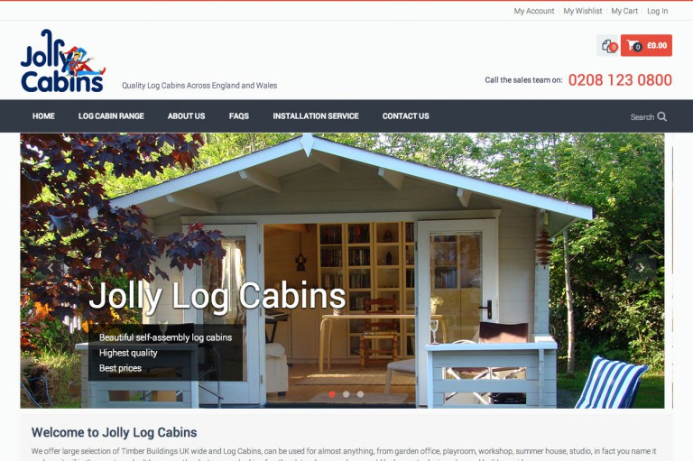 Jolly Log Cabins